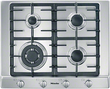 KM 2012 - Gas cooktop with a mono wok burner for special applications.--NO_COLOR