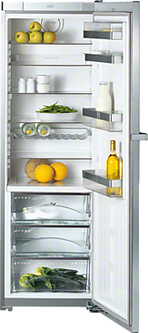 K 14827 SD ed/cs - Freestanding refrigerator For optimum storage conditions thanks to Perfect fresh and Miele VarioBord.--Stainless steel