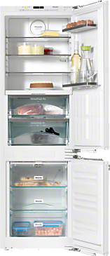 KFNS 37682 iD - Built-in fridge-freezer combination High-quality storage thanks to Perfect fresh Pro, FlexiLight and Frost free.--