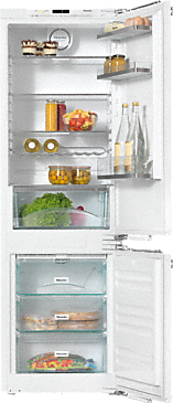 KFNS 37432 iD - Built-in fridge-freezer combination With impressive convenience from FlexiLight and the SoftClose door mechanism.--