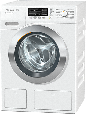 WKH132 WPS AUS PWash&TDos XL - W1 Front-loading washing machine with the PowerWash system and TwinDos for revolutionary Miele cleanliness.--Lotus white