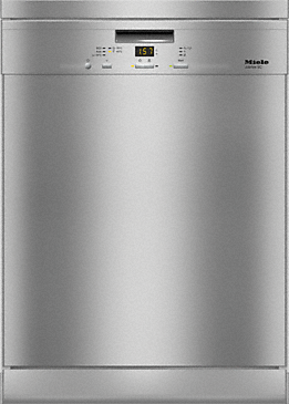 G 4930 SC Front Jubilee - Freestanding dishwasher with 3D cutlery tray for maximum convenience at an attractive entry level price--Stainless steel/CleanSteel