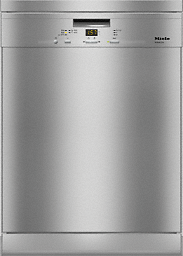 G 4310 SC Front Active Eco - Freestanding dishwasher with cutlery tray for maximum convenience at an attractive entry level price.--Stainless steel/CleanSteel