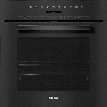 H 7264 BP - Ovens seamless design with clear text, networking and pyrolytic cleaning.--Obsidian black
