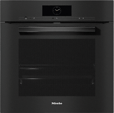 H 7860 BP - Ovens seamless design with food probe and BrilliantLight.--Obsidian black