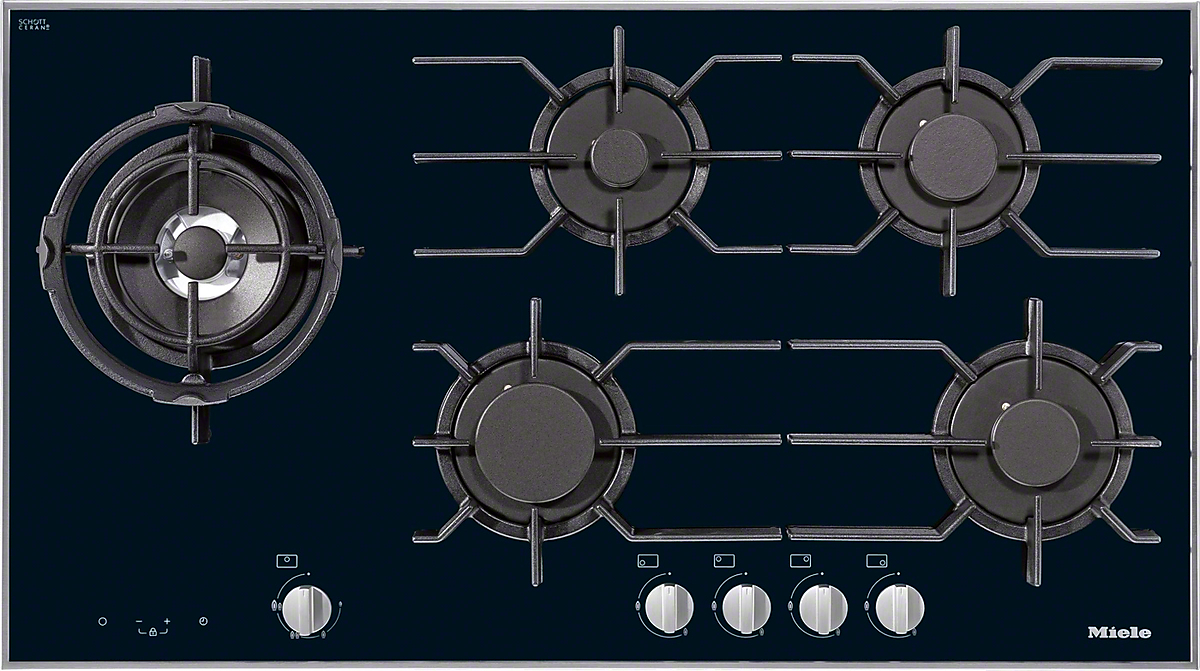 Miele KM 3054 Gas cooktop -> Plyta Gazowa Mastercook Safety Control