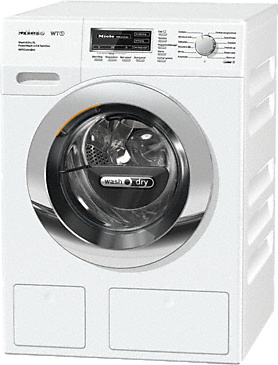 WTZH730WPM PWash2.0&TDosXLWifi - WT1 washer-dryer